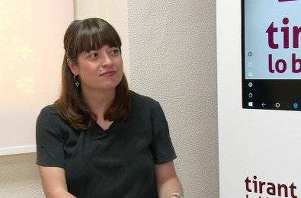 María José Gálvez Salvador, directora general del Libro y Fomento de la Lectura