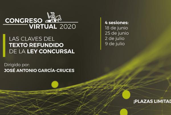 Congreso Virtual 2020 Texto Refundido